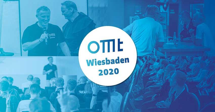 """Bildercollage der OMT mit dem Schriftzug """"OMT Wiesbaden 2020"""""""